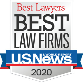 U.S. News & World Report Best Law Firms 2020