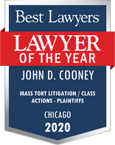 2020 Best Lawyers of the Year John D Cooney