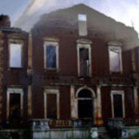 Clemens House fire